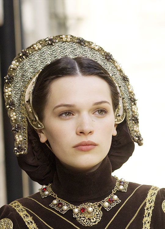 The Tudors  costumed by Joan Bergin. Beautiful!