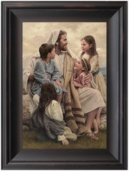 The Savior with the children