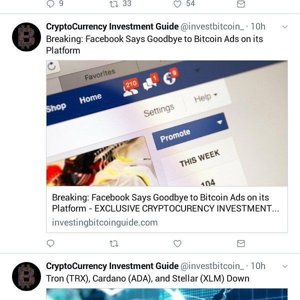 how to promote cryptocurrency on facebook