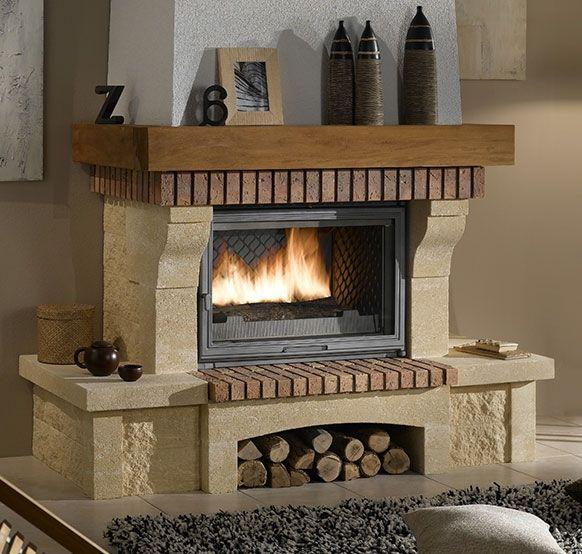 Les 25 meilleures id es concernant chemin es rustiques sur pinterest manteau rustique - Nettoyer pierre de cheminee ...
