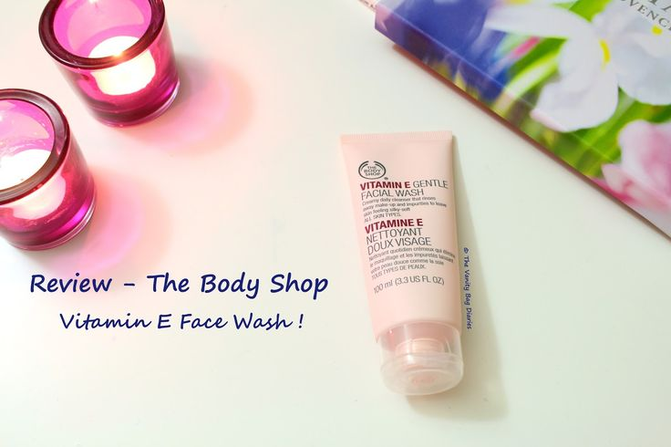I recently hauled some 'The Body Shop' goodies and in today's post I am reviewing The Body Shop Vitamin E Gentle Facial Wash. It is my first time trying out the Vitamin E range and so far I am impressed. What the company says :The Vitamin E Gentle Facial Wash contains Wheat germ oil, one of nature's