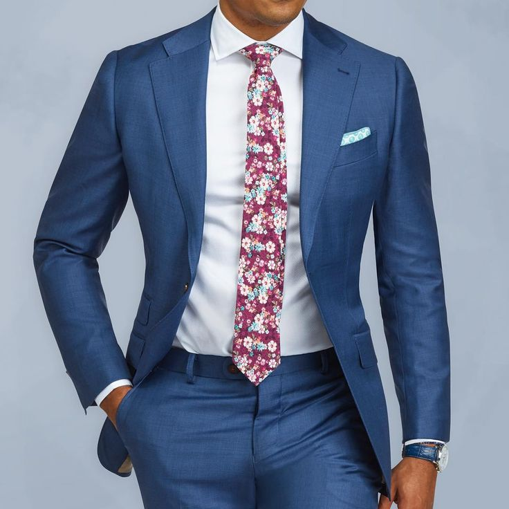 1000  ideas about Blue Suit Men on Pinterest | Men's suits, Men's