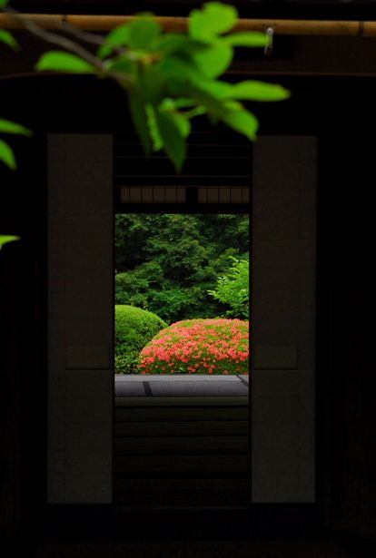 Shisen-do, Kyoto, Japan 詩仙堂 京都