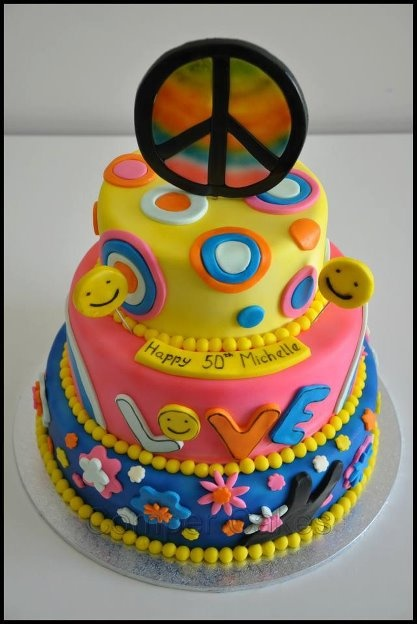 60 S Style 50th Birthday Cake Party S Events And