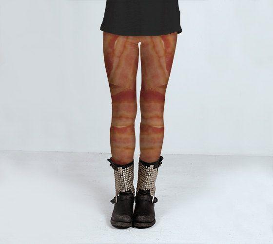 PORK PANTS  Leggings by JUST3Js on Etsy