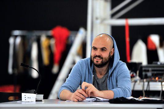 Le metteur en scène Julien Gosselin à Lille, le 8 juin 2013.