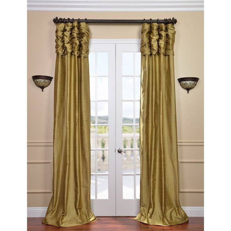 Monceau Room Darkening Rod Pocket Curtain Panels