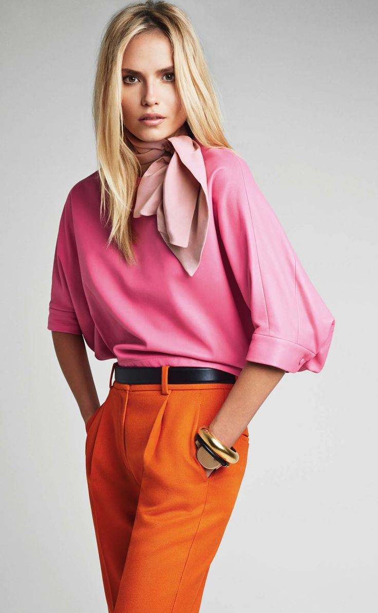 Orange fucsia