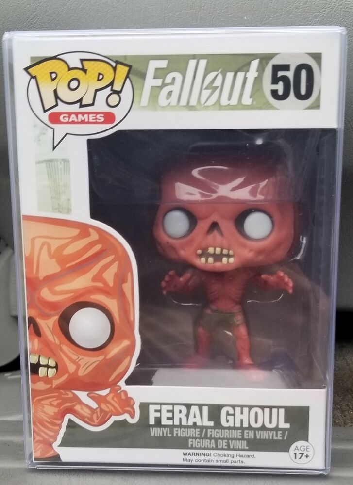 Funko Feral Ghoul #50 Pop Games Fallout Vinyl Figure