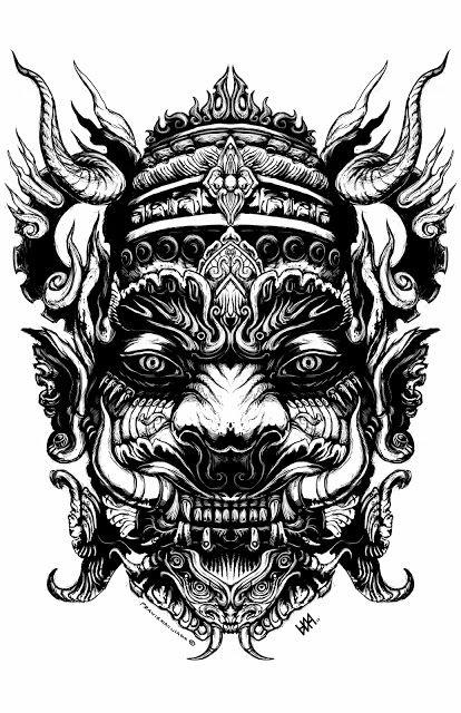 Héctor Andrés Valencia: Efigie demoníaca (Tibetan Demon)
