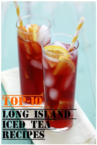 How to make a pitcher of long island iced tea for Iced tea cocktail recipes