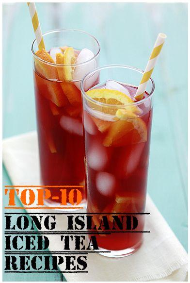 Top-10 Long Island Iced Tea Recipes
