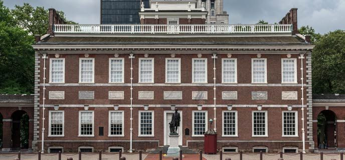 Tour the building where the Founding Fathers walked, argued and created a nation. See the room where the Declaration of Independence and the...