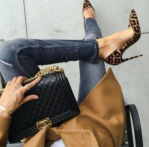 Tips para añadir zapatos animal print a tu outfit