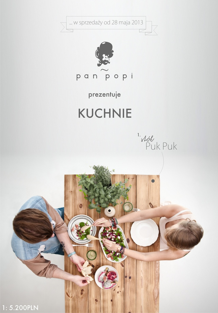 I designed a table for Pan Popi www.panpopi.pl