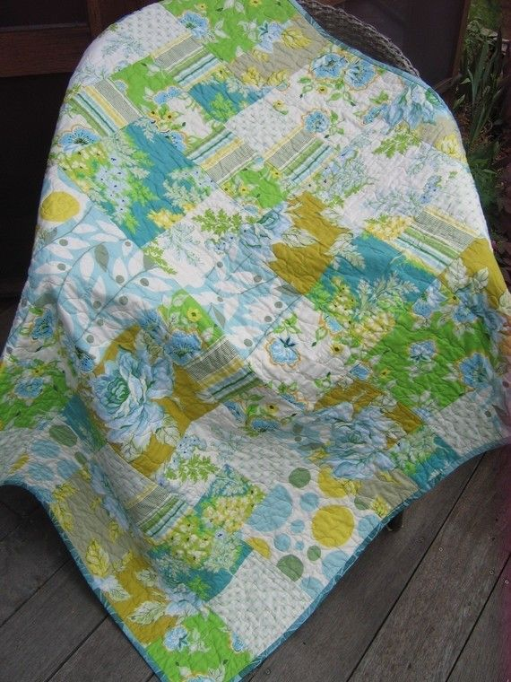 nice pattern: Lap Size, Girls Quilts, Easy Patterns Quilts, Quilts Patterns Baby, Full Size Quilts Patterns, Quilts Ideas, Large Lap, Quilts Patternbabi, Lap Quilts