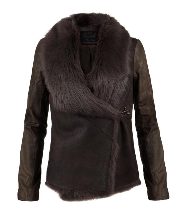 AllSaints:: Mures Sheepskin Jacket