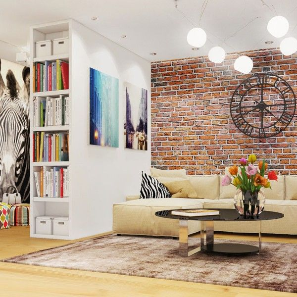 Элементы стиля лофт в интерьере квартиры