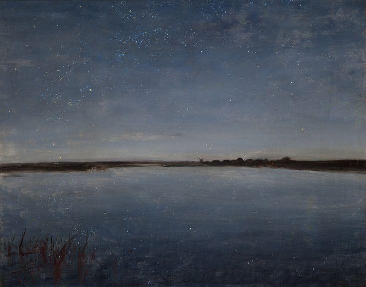 Józef Chełmoński, Noc gwiaździsta, 1888 rok