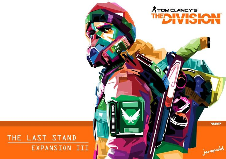 WPAP Art Tom Clancy The Division