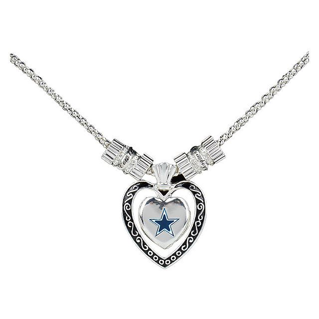 250 best dallas cowboys images on pinterest dallas cowboys dallas cowboys silver plated heart star necklace aloadofball Gallery