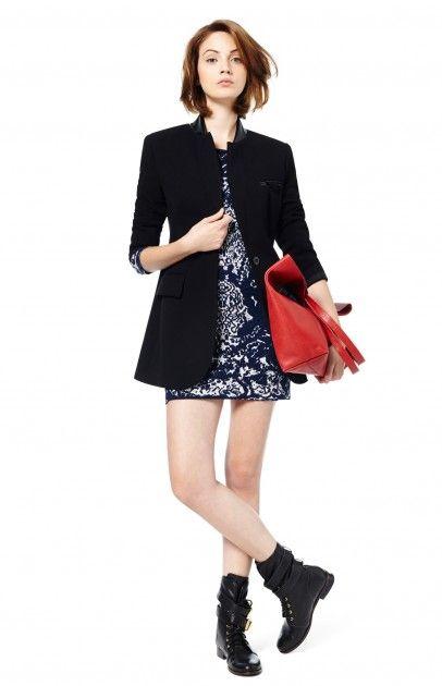 Vestido punto barroco - Vestidos | Adolfo Dominguez shop online
