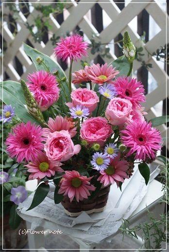 【今日の贈花】改装のお祝いはあたたかくハッピーな色で