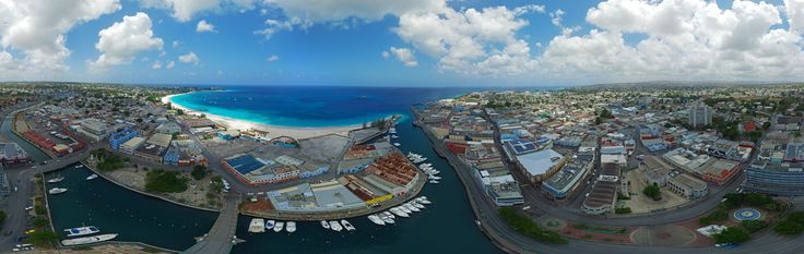 Check out this interactive panorama of our beautiful capital city, and UNESCO World Heritage Site - Bridgetown, Barbados