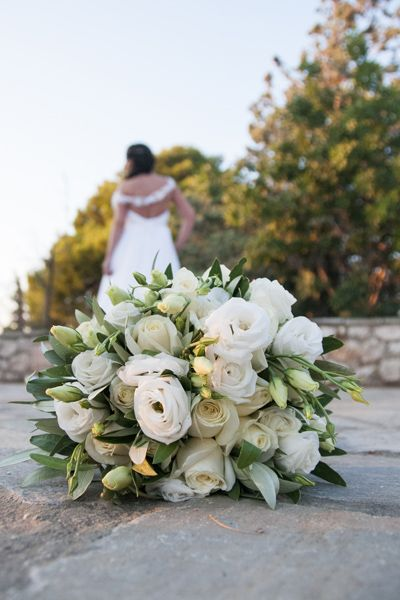 Bridal bouquet from Wedding In Athens