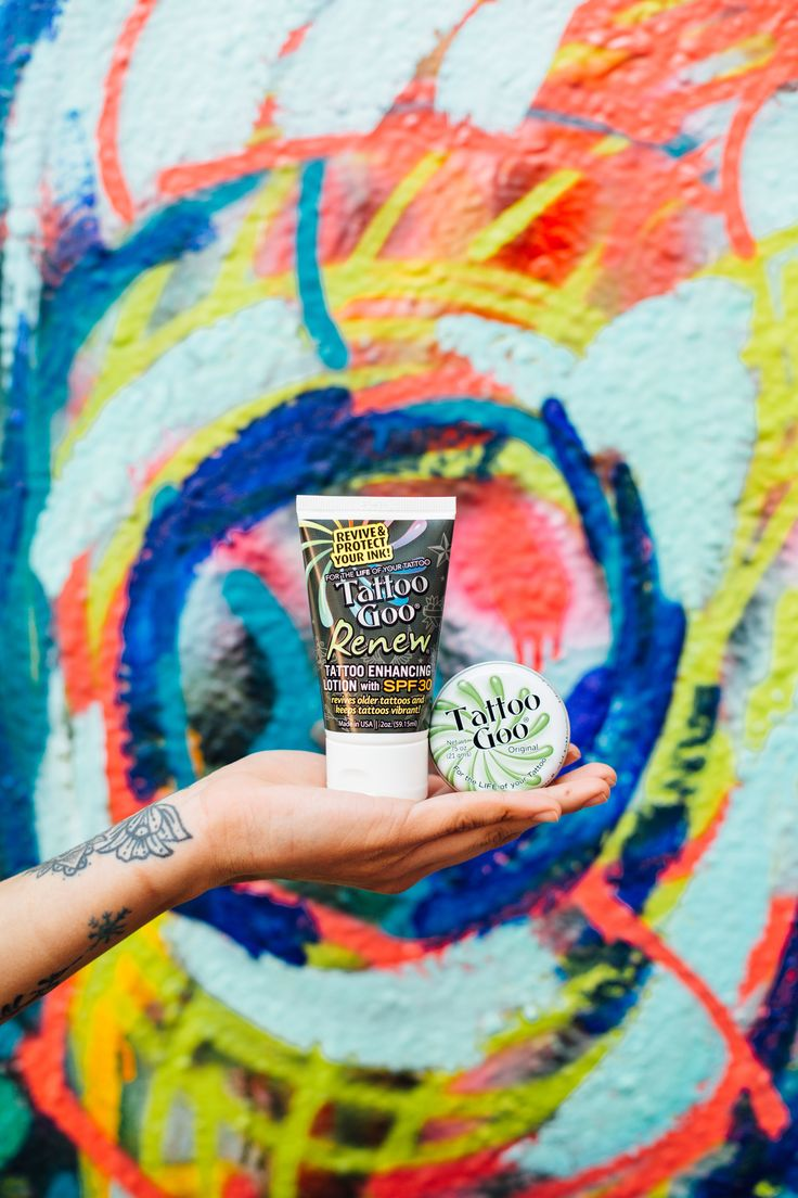 It's meant to be. A salve to soothe healing skin while keeping moisture in, and a lotion with SPF30+ to keep healed ink moisturized and protected from the sun.