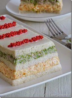 espe saavedra en la cocina receta de pastel salado de atun