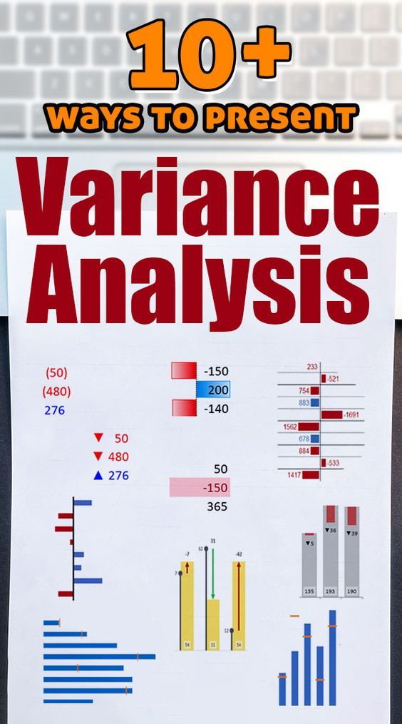 10+ ways to make Excel Variance Reports and Charts - How To