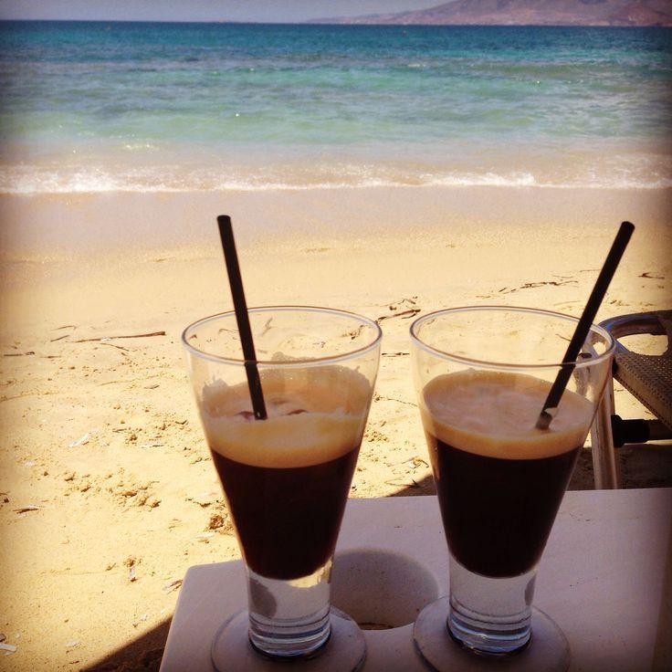 Naxos Greece Espresso Freddo