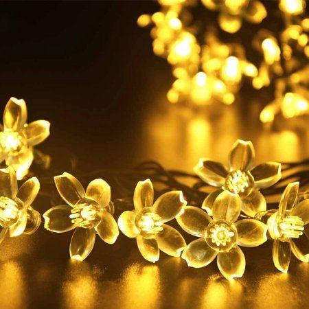 Qedertek Outdoor Waterproof Solar Lights,2296ft 50 LED Solar Fairy