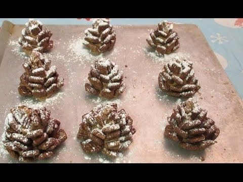 The Perfect DIY Edible Snowy Pinecones With Chocolate