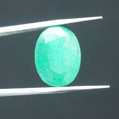 7.00 ct. ***Phenomenal Natural Dazzling Oval Cut Certified Emerald Gemstone*** .. USD 15.99