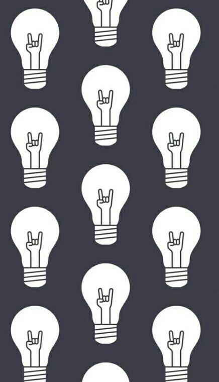 Grafismo lâmpada