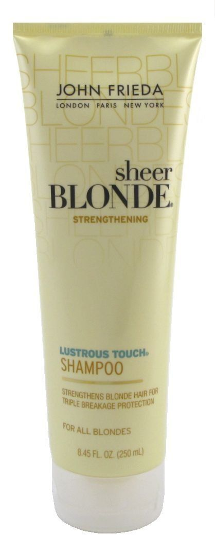John Freida Sheer Blonde Lustrous Shampoo 8.45 oz. Tube (3-Pack) with Free Nail File * You can get additional details at the image link.