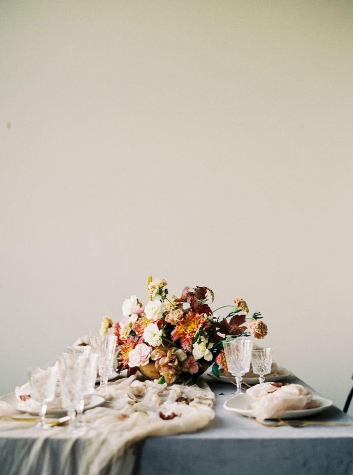 Vibrant Autumn Wedding Flower Inspiration