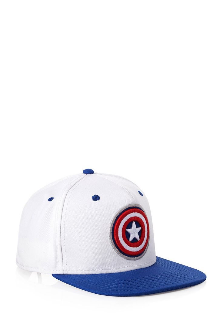 Captain America Snapback Hat | 21 MEN Cap-tain america #21Men #Accessories