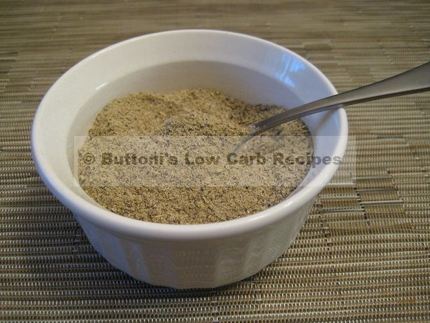 "Homemade ""Cavender's Greek"" Seasoning from Buttoni's Low Carb"