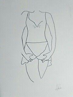 Dibujo ballet