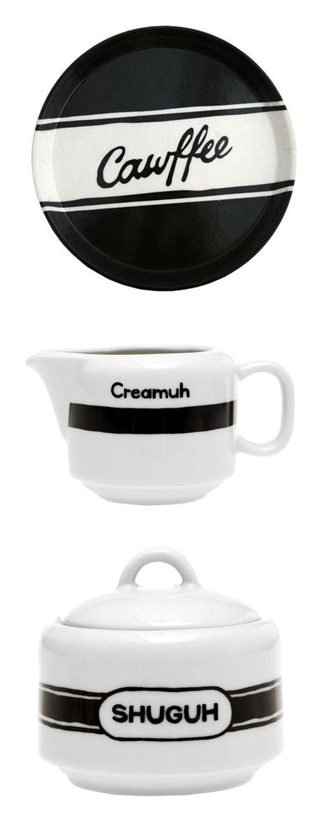 Diner Dialect Coffee set