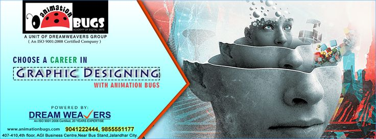 Choose #Graphic_designing course with Animation Bugs (y) Powered by DREAM WEAVERS  Call: 9855551177 | 9041222444