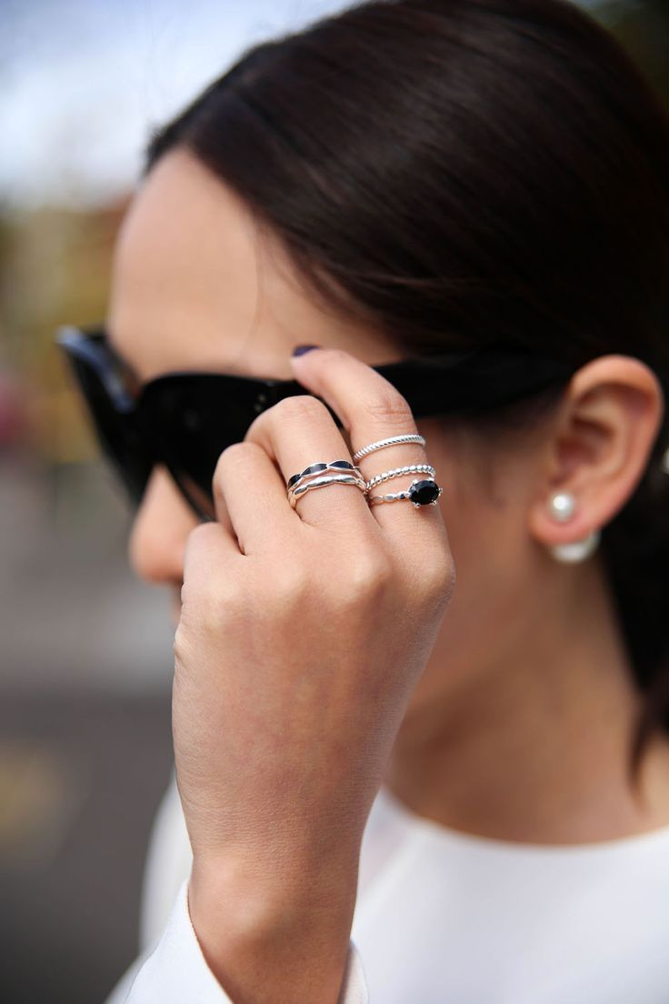 Emme & Roe | How to Stack Your Rings | The Tia Fox