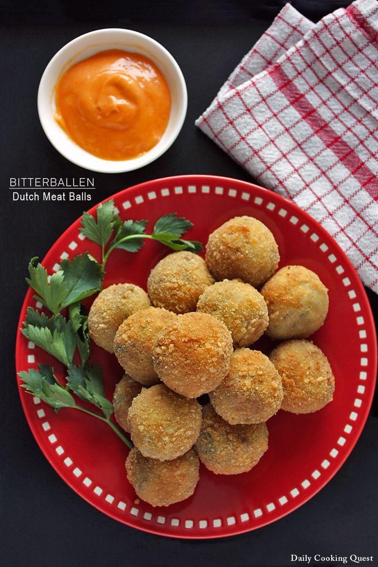 Bitterballen - Dutch Meat Balls also Indonesian