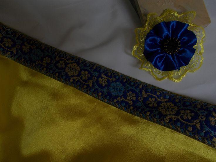 Накидка вечерняя «Лимонный мусс» - одежда ручной работы