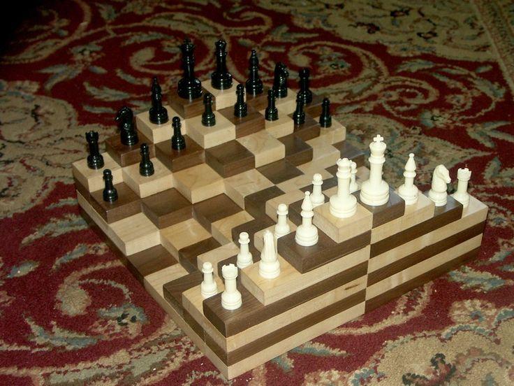 chess board 3d - Google Search