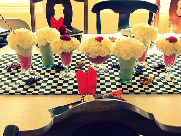 159 best womens tea table ideas images on pinterest for 1950s party decoration ideas