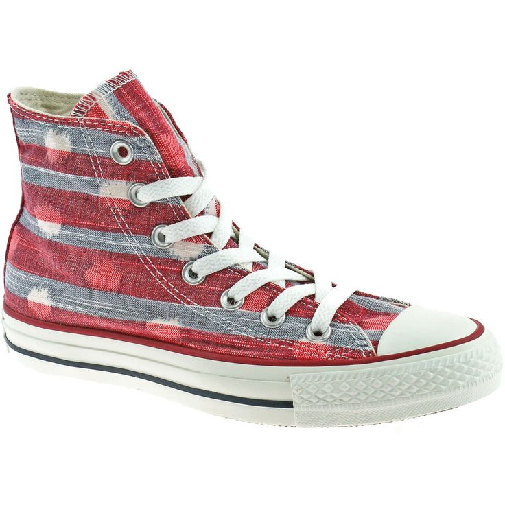 LADIES CONVERSE ALL STAR CANVAS BOOTS SIZE UK 3 - 8 HI VARSITY RED 537070C #Converse #HiTops